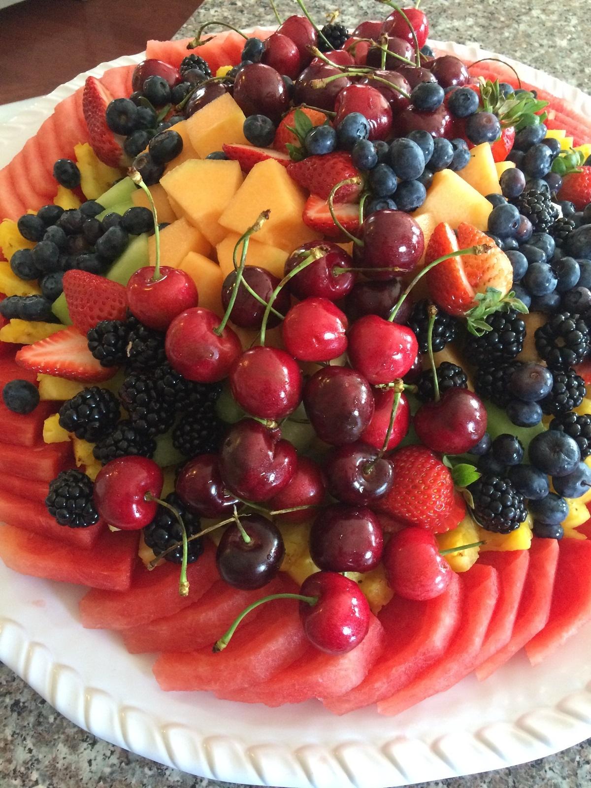 Cat - Fruit Platter