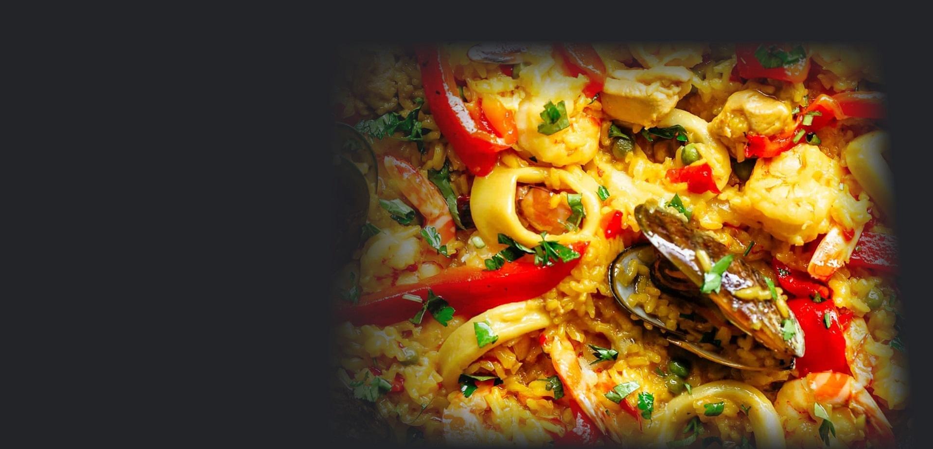 Chef Paula Zavala famous Paella