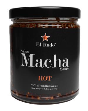 El Rudo Salsa Macha - Hot