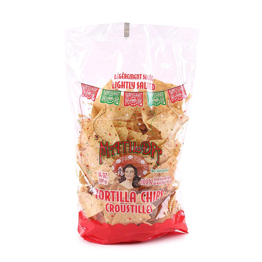 Matilda Tortilla Chips Paula Zavala